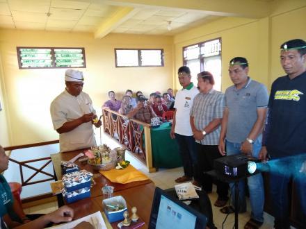 Pelantikan KPPS Desa Bengkel Pilgub Bali 2018