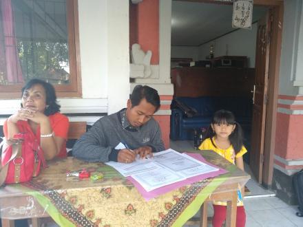 Pendaftaran Anak Didik Baru Di SD Negeri Bengkel