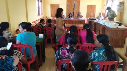 Pembinaan KWT Wisma Karya Desa Bengkel Oleh Dinas Ketahanan Pangan Kabupaten Buleleng