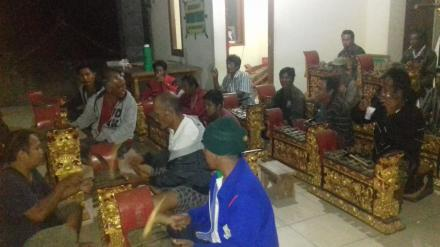 Latihan Gong Kebyar, Siap Sambut Pagelaran Seni Budaya Busungbiu